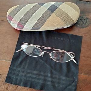 Burberry prescription glasses